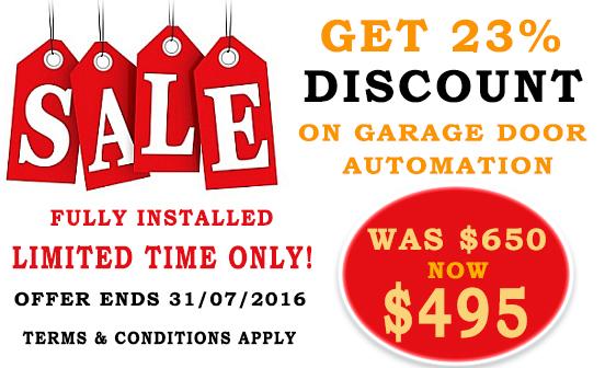 Garage Door Motor Discount