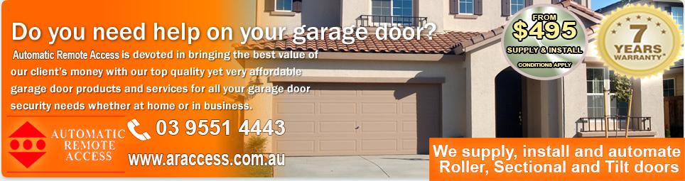 Signs your garage door needs repairs or replacement for Bayside garage doors