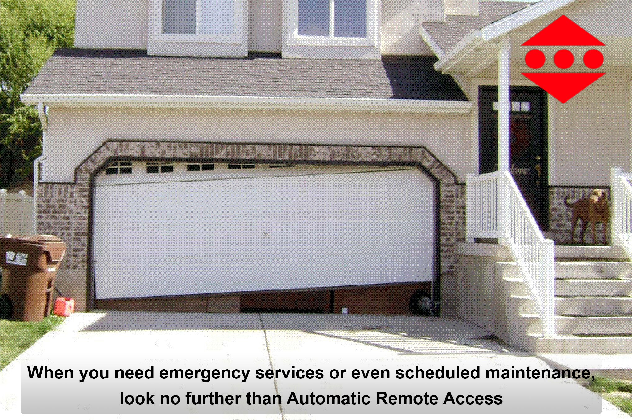 Repairing a garage door diy tips automatic remote access for Garage gate repair