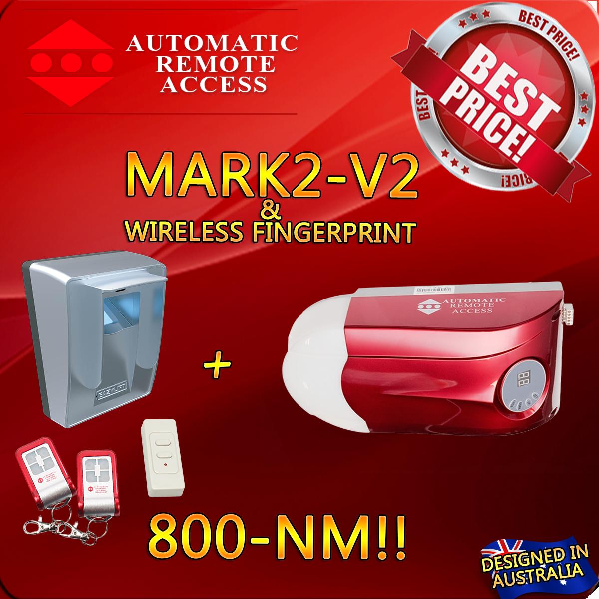 Sectional Tilt Door Opener Ara Mark2 V2 Garage Door Motor Wireless