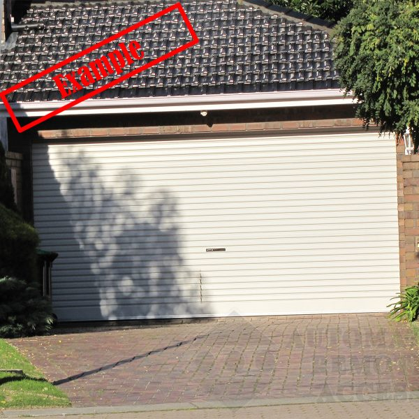 AA Series Steel-line Garage Roller Door – Paperbark Colour