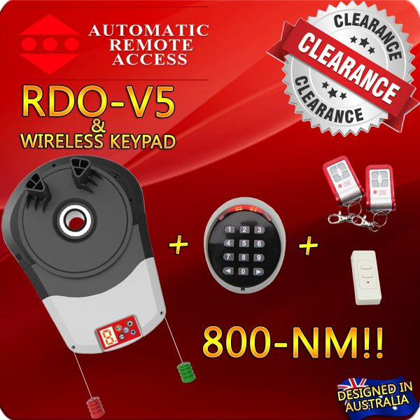RDO-v5+Wireless-Keypad