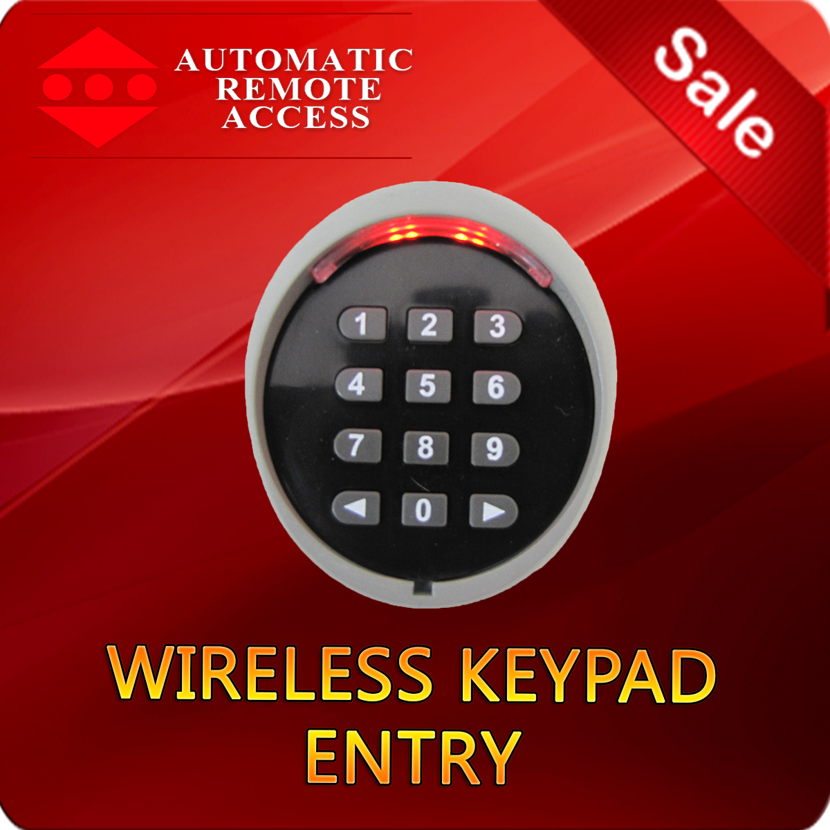 Ara Garage Door And Gate Wireless Keypad Entry 433 Mhz Automatic