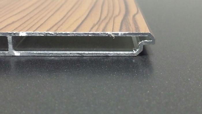 Custom garage door panel material aluminium