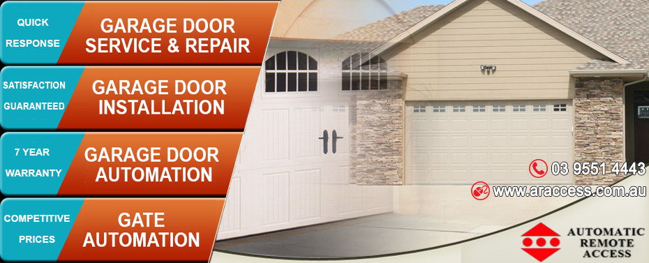 Garage door repairs melbourne automatic remote access solutioingenieria Gallery
