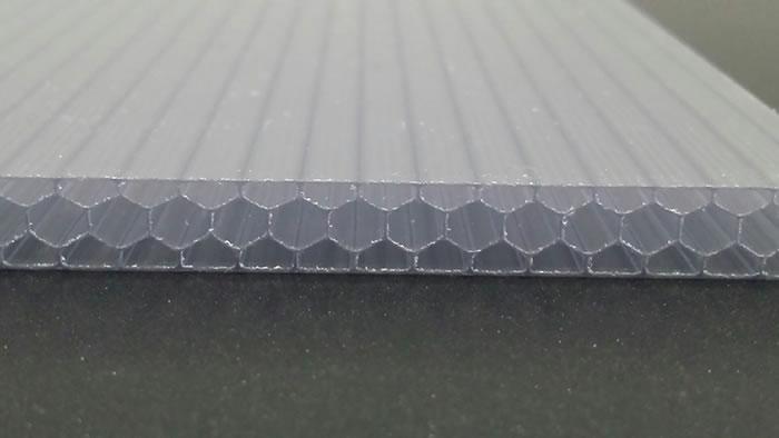 Custom garage door panel material polycarbonate