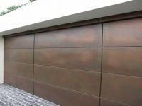 Winchester style garage door custom