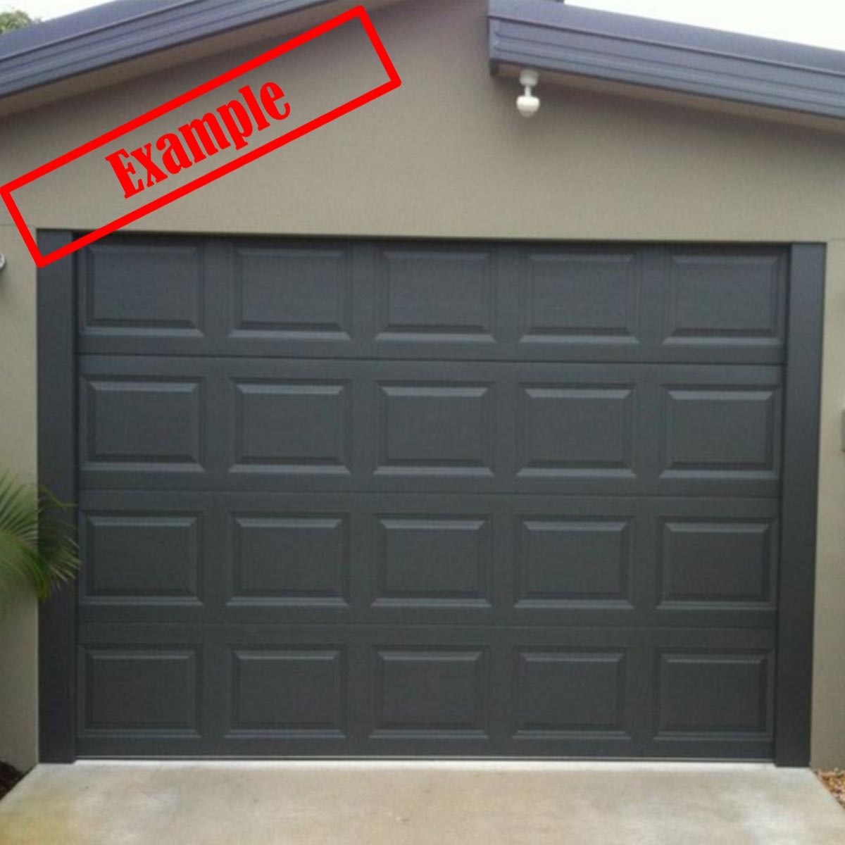 Taurean Sectional Panel Garage Door Monument Color