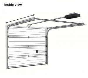 Panel Sectional Garage Door Diagram
